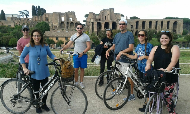 Biking tour in Rome - 4 hours