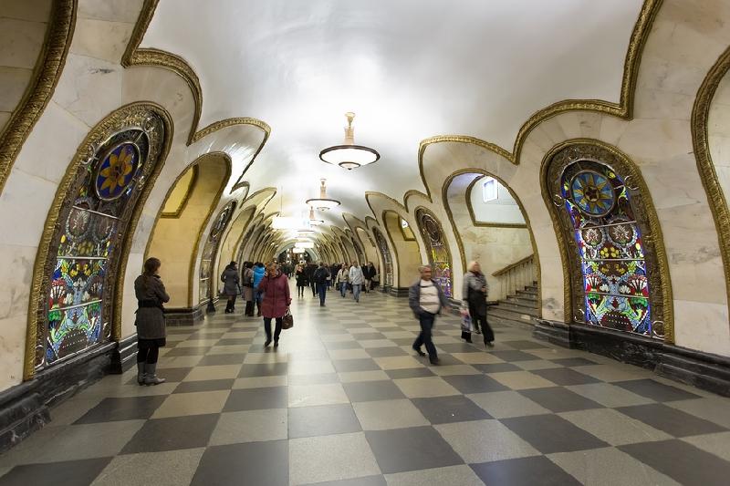 Moscow Metro Tour 2