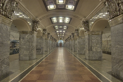 Saint Petersburg Metro Tour