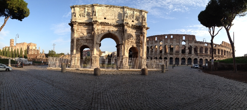 Rome in a glance. Best Private Half Day Walking Tour Discovering Imperial Remainings, Baroque Churches, Squares and Fountains.  1