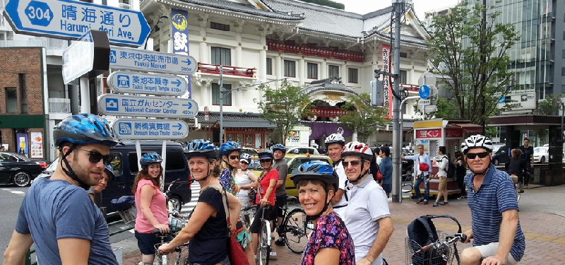 Tokyo bicycle tours - 6 hours 1