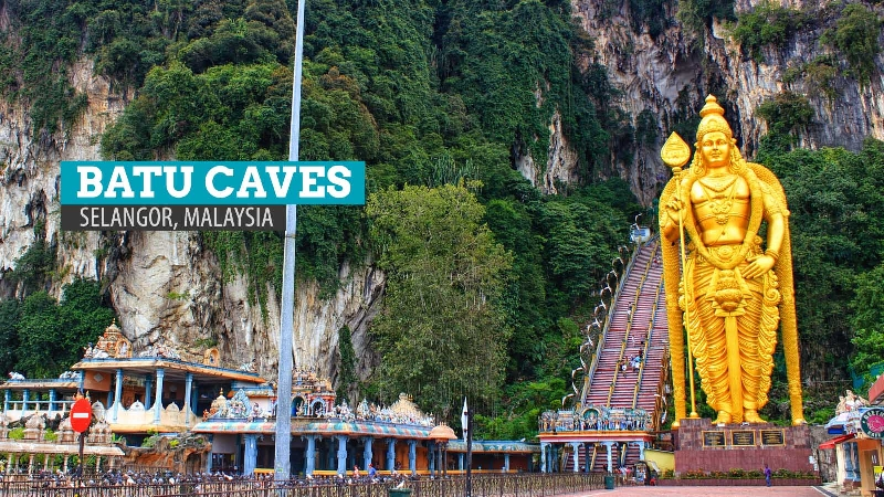 Private day tour from Kuala Lumpur to the Batu Caves