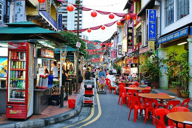 Singapore Chinatown Night Tour with Dinner 1