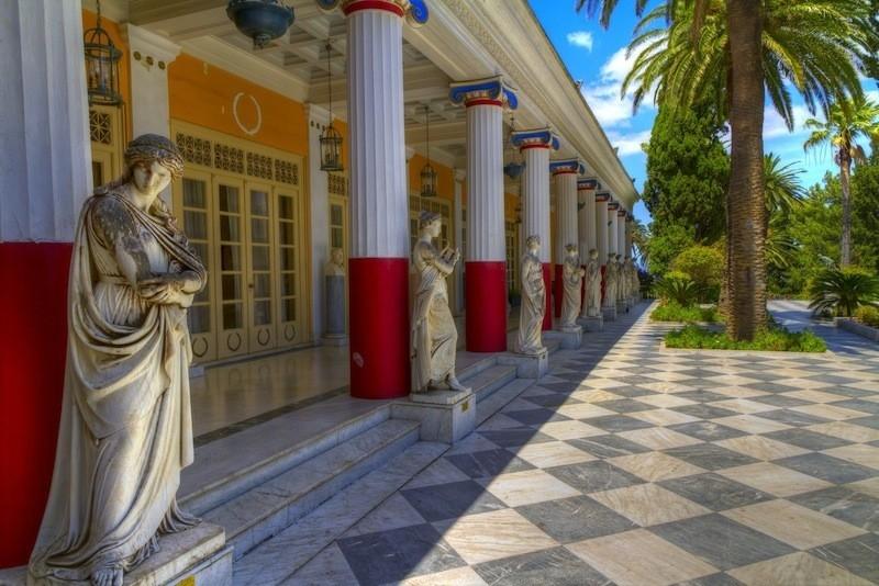 Achillion Paleokastritsa Corfu Private Tour 1