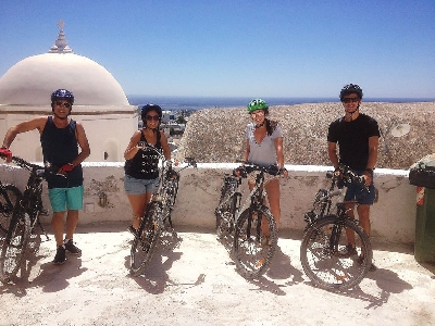 Santorini: Around the Island by E-Bike